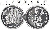 Изображение Монеты Бельгия 500 франков 2001 Серебро Proof-
