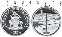 Изображение Монеты Багамские острова 5 долларов 1994 Серебро Proof- Гольф