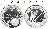 Изображение Монеты Казахстан 100 тенге 2009 Серебро Proof-