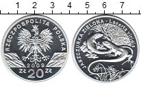 Изображение Монеты Польша 20 злотых 2009 Серебро Proof-