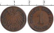 Изображение Монеты Германия 1 пфенниг 1911 Медь