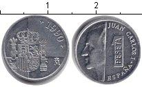 Изображение Монеты Испания 1 песета 1990 Алюминий XF