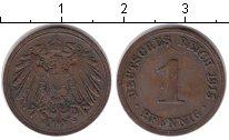 Изображение Монеты Германия 1 пфенниг 1915 Медь