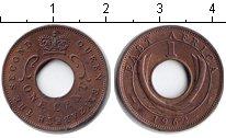 Изображение Монеты Восточная Африка 1 цент 1962 Медь XF
