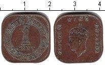 Изображение Монеты Малайя 1 цент 1945 Медь
