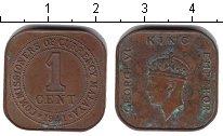 Изображение Монеты Малайя 1 цент 1941 Медь
