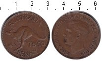 Изображение Монеты Австралия 1 пенни 1950 Медь