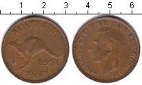 Изображение Монеты Австралия 1 пенни 1951 Медь