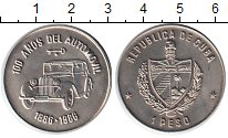 Изображение Монеты Куба 1 песо 1986 Медно-никель XF