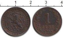 Изображение Монеты Нидерланды 1 цент 1880 Медь XF