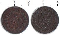 Изображение Монеты Нассау 1/4 крейцера 1812 Медь