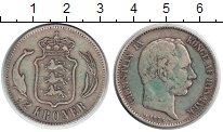 Изображение Монеты Дания 2 кроны 1875 Серебро VF
