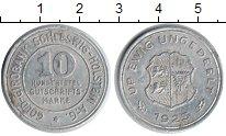 Изображение Монеты Шлезвиг-Гольштейн 10/100 кредитных марок 1923 Алюминий XF