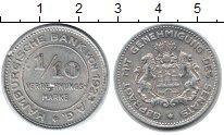 Изображение Монеты Гамбург 1/10 марки 1923 Алюминий  Нотгельд.