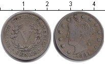 Изображение Монеты США 5 центов 1883 Медно-никель