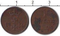Изображение Монеты Данциг 1 пфенниг 1926 Медь