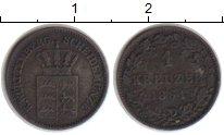 Изображение Монеты Вюртемберг 1 крейцер 1861 Серебро VF