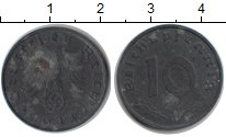 Изображение Монеты Третий Рейх 10 пфеннигов 1944 Цинк