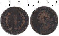 Изображение Монеты Франция 12 денье 1792 Медь