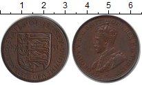 Изображение Монеты Остров Джерси 1/12 шиллинга 1931 Медь XF Георг V.