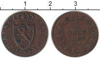 Изображение Монеты Нассау 1/4 крейцера 1819 Медь VF