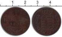 Изображение Монеты Саксен-Майнинген 1 крейцер 1831 Медь VF