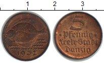 Изображение Монеты Данциг 5 пфеннигов 1932 Медь