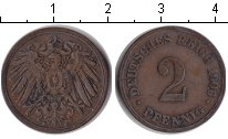 Изображение Монеты Германия 2 пфеннига 1906 Медь
