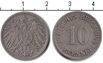 Изображение Монеты Германия 10 пфеннигов 1912 Медно-никель