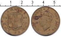 Изображение Монеты Ямайка 1 пенни 1952  VF