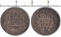Изображение Монеты Гамбург 1 шиллинг 1765 Серебро VF