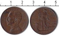 Изображение Монеты Италия 5 сентесимо 1918 Медь XF Витторио Имануил III