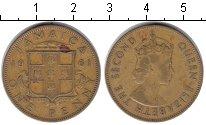 Изображение Монеты Ямайка 1 пенни 1961  VF