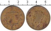 Изображение Монеты Ямайка 1 пенни 1937