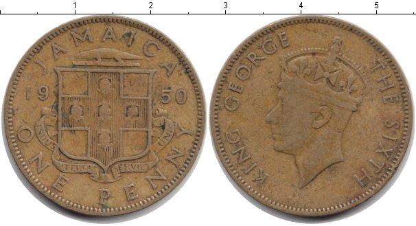Картинка Монеты Ямайка 1 пенни 1950
