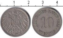 Изображение Монеты Германия 10 пфеннигов 1914 Медно-никель
