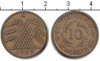 Изображение Монеты Веймарская республика 10 пфеннигов 1925  XF