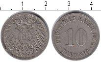 Изображение Монеты Германия 10 пфеннигов 1908 Медно-никель