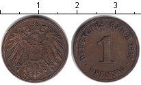 Изображение Монеты Германия 1 пфенниг 1914 Медь
