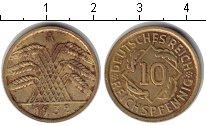 Изображение Монеты Веймарская республика 10 пфеннигов 1932 Медь