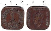 Изображение Монеты Малайя 1 цент 1939 Медь