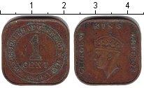 Изображение Монеты Малайя 1 цент 1940 Медь