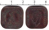 Изображение Монеты Малайя 1 цент 1943 Медь