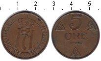 Изображение Монеты Норвегия 5 эре 1940 Медь XF