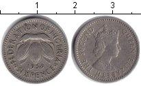 Изображение Монеты Нигерия 6 пенсов 1959 Медно-никель  Елизавета II.