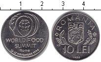 Изображение Монеты Румыния 10 лей 1996 Алюминий XF