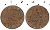 Изображение Монеты Данциг 10 пфеннигов 1932 Медь