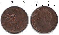 Изображение Монеты Италия 10 сентесимо 1921 Медь XF