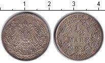 Изображение Монеты Германия 1/2 марки 1906 Серебро VF