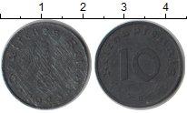 Изображение Монеты Третий Рейх 10 пфеннигов 1943 Цинк